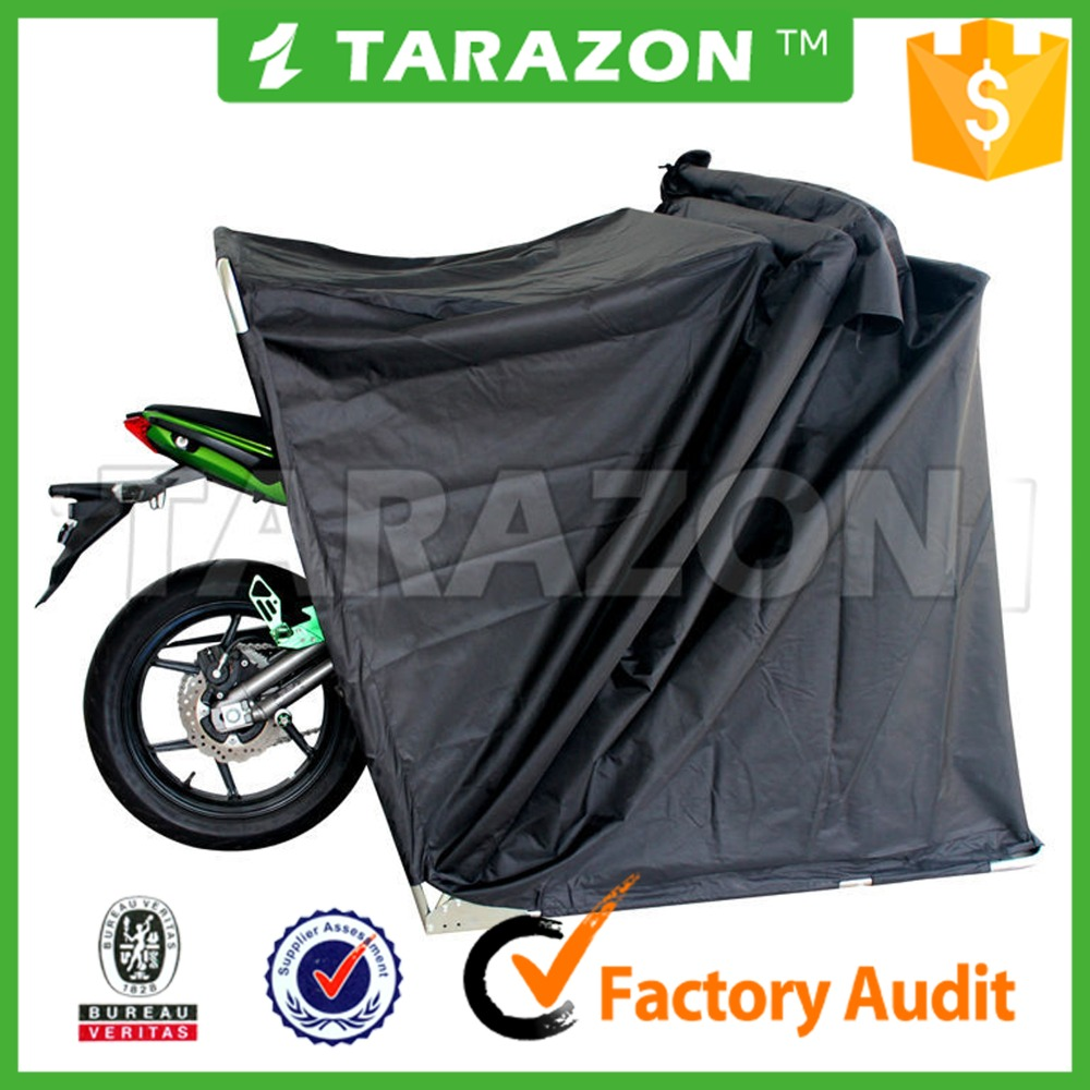 High performance and hot sale China waterproof motorcycle folding tent