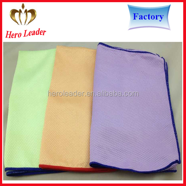Factory price lint free super absorption microfiber towel car,car cleaning towel