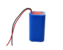 7.4V 2200mAh 18650 cylindrical li-ion battery pack for industrial equipments