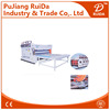 [RD-SB1500-2800-2]Semi automatic chain feeding 2 color corrugated carton flexo printing slotting machine