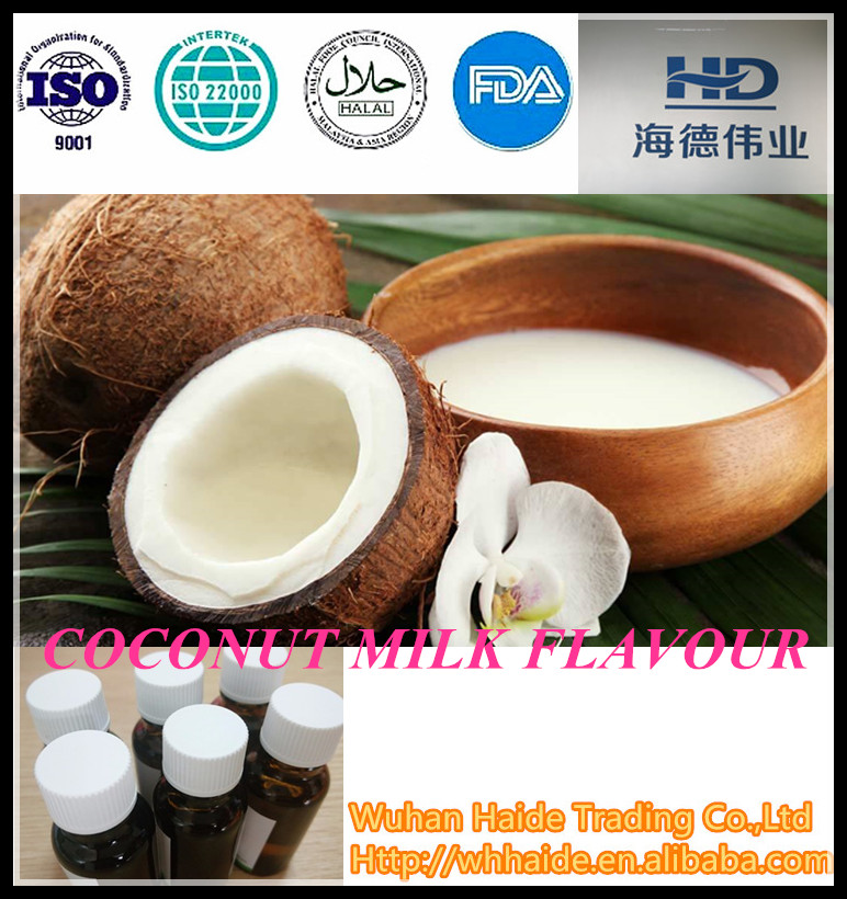 HALAL natural Coconut milk Flavour for Dairy products ,beverage ,icecream and so on