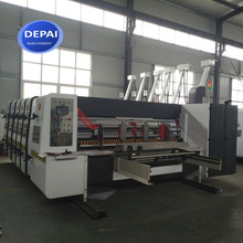 DP-ZYK-2 Small Corrugated Paper Carton Box Printing Slotting Die Cutting Making Machine For Sale
