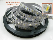 color changing 5050SMD 60leds/m rgbw 4chips led strip smd 5050 led plant grow light strip