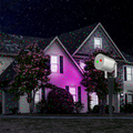 Red & Green Wireless Control Laser Christmas Lights, Moving Outdoor Star Projector