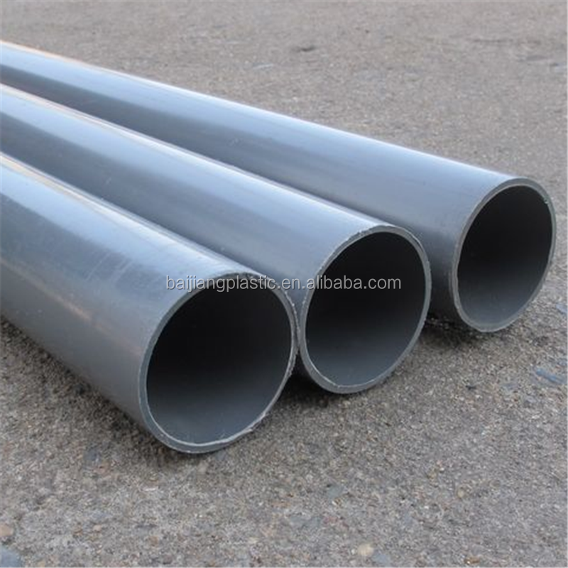 New PVC types of irrigation pipes