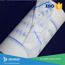 High Quality Raw material for baby diaper back sheet PE film