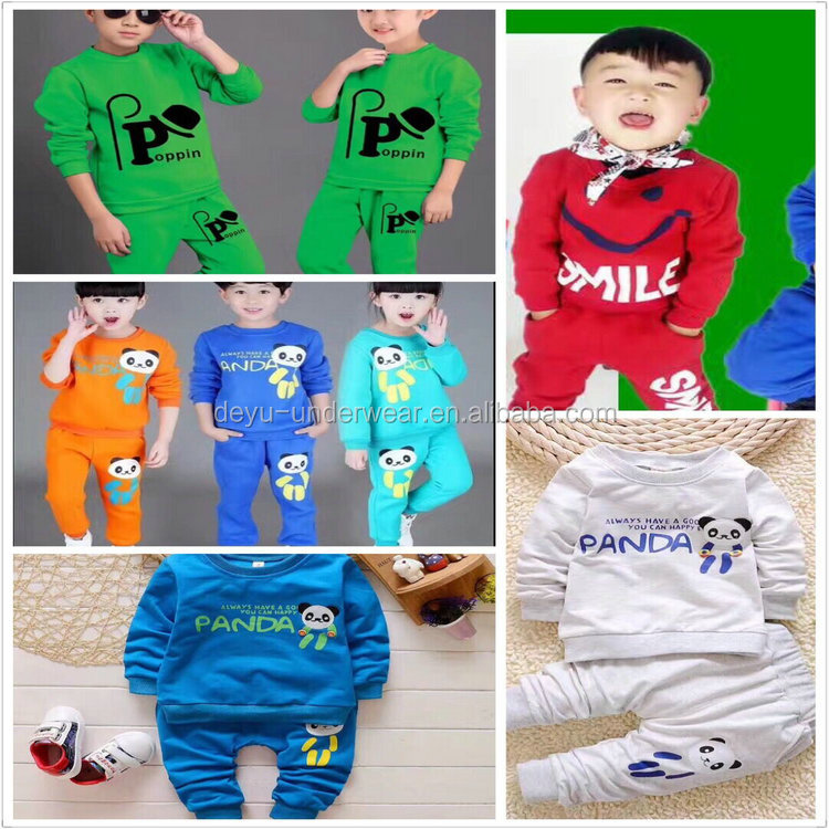2USD Automn Type Assorted 3-8Years Boys And Girls Children Sporting T Shirt Suits / Polo Shirt (gdzw223)