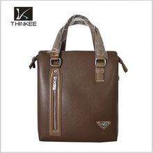 leather office men's executive briefcase bag