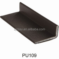 L profile PE+PU Coating type foam seal strip/door and window weather seal