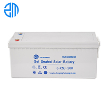 ZM High efficiency deep cycle agm battery 12v 200ah
