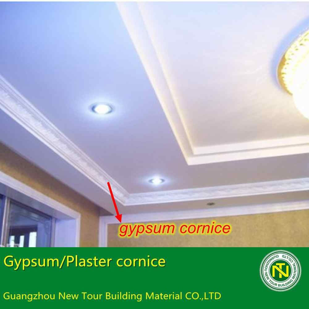 new building material gypsum plaster cornice roof ceiling design