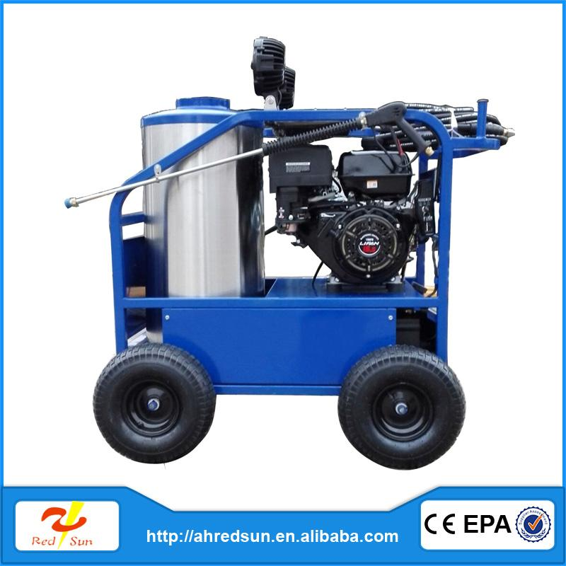 Hot water car wash wet blasting machine optima steamer