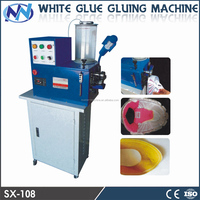 SX-108 white latex Gluing Machine for shoes