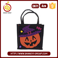 2017 wholesale high quality craft gift halloween bags