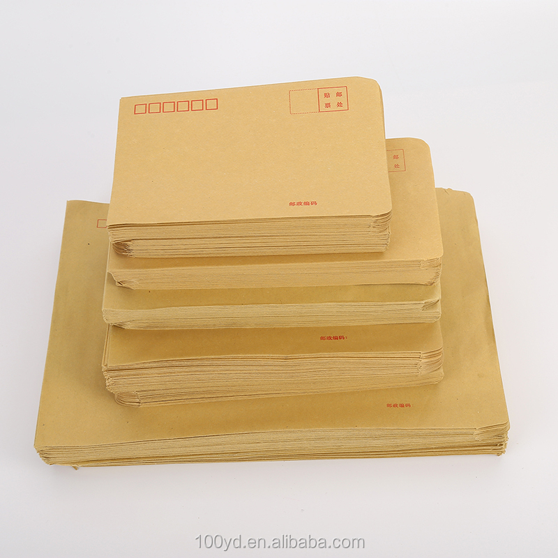 OEM Custom Size Cheap C5 Brown Expandable Kraft Paper Envelopes