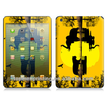 Lake,inverted reflection in water,fashionable vinyl color skin sticker for ipad