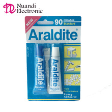 HIGH Performance Epoxy <strong>Adhesive</strong> Araldite glue 90 minutes Standard 17ml *2