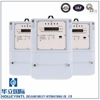 Optional RS485 infrared and PLC communication Three Phase 4 Wire Energy Meter