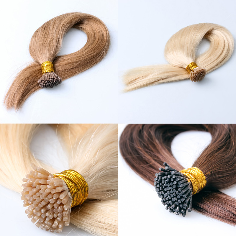 Pre Bonded Stick 100% Remy Human Hair I Tip Brazilian Hair Extension I Tip Hair for reseller