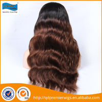 2016 Custom multi-type wigs top quality 7A Grade human hair front lace wig