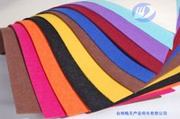 kinds of color non-woven fabric needle felt