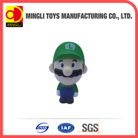 2015 new Mini keychain Super Mario Action Figure for baby toy
