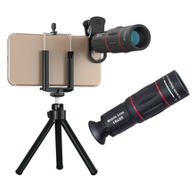 2018 Trending Products HD 18X Universal Clip-On Optical Telescope Zoom Lens Telephoto Camera Lens For Mobile Phone