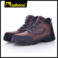 Buffalo leather safety shoes,high heel safety footwear M-8361
