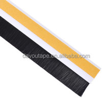 escalator deflector brush/ strip brush aluminium accessory