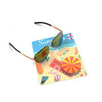Custom Microfiber Cleaning Cloth For Glasses