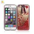 Plating liquid TPU cell phone case for apple iphone 6