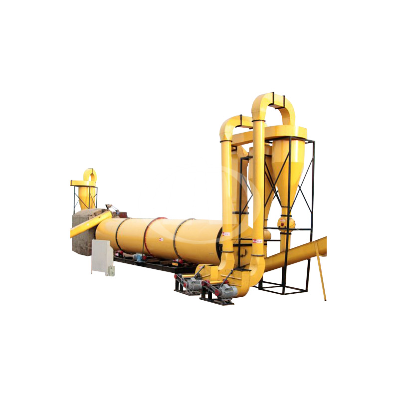 Factory Directly Rotary Drum Dryer For Drying Wet Clay Sand