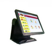 Online 15 Inch Touch Screen Ordering System Point of Sale Software For Retail Business POS1618