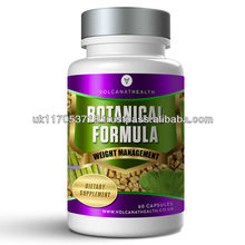 Botanical Formula 500mg Capsules Sports Supplement Pills in Volcanat Health Premium Bottles