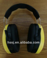 2015 hot selling CE ear muffs 29db soft foam cushions CE soundproof aviation earmuffs for sale