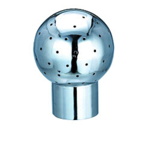 High quality & best price stainless steel sanitary spray cleaning ball