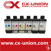 CMYKW Color 1 liter Package galaxy uv printing ink