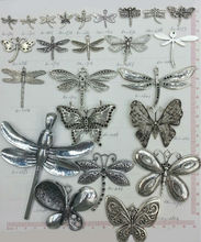 jewelry findings zinc alloy pendant aniaml dragonfly in bulk