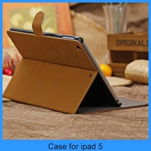 2013 new arrival top grade Vintage style leather case for ipad air/5 (PT-IP5201)
