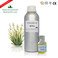 Citronella oil obtained from the leaves and stems of different species of lemongrass