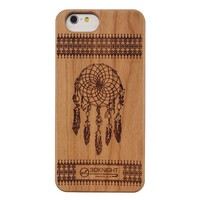 OEM China Factory DIY Laser Pattern Unique Design Ultra Slim Wood Bamboo Cover for iPhone 6s 6