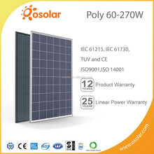 Osolar 60 cell best efficiency Poly solar pv panel for industrial use | pv