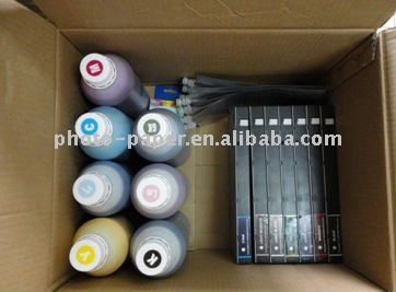 CISS Refillable ink/bulk ink/pigment/dye for Eqson pro4000/4400 (1000ml)