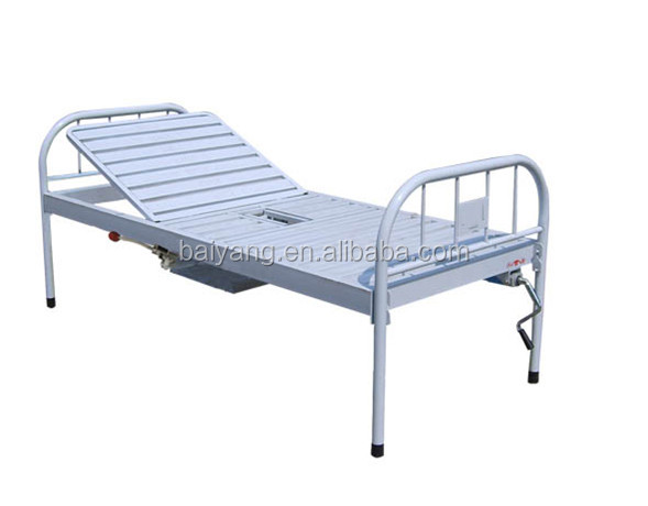 All epoxy single function manual bed with chamer pot