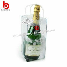 2016 Promotional custom pvc ice bag for wine