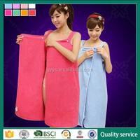 China supplier sexy microfiber beach towel wrap made in China