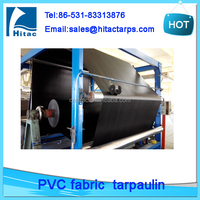 Heavy duty waterproof pvc coated fabric tarpaulin truck cover