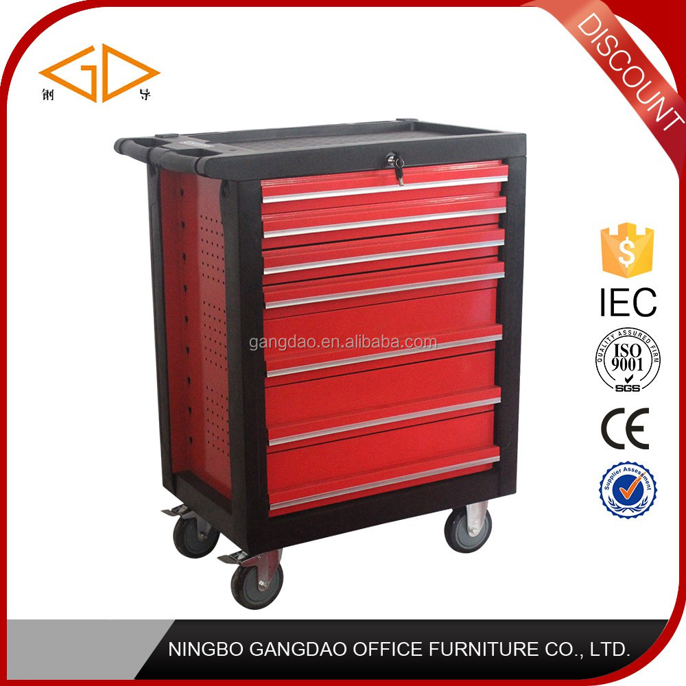 Hot Sale steel garage car repair tool trolley tool cabinet