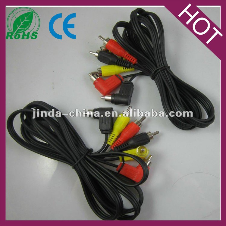assembly 3rca to 3rca audio rca cable