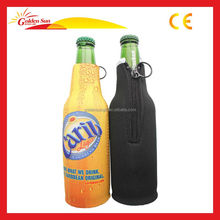 Eco-friendly Customize Promotional Gift Neoprene Collapsible Beer Bottle Cooler